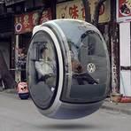Automóveis - Volkswagen - VW cria o carro voador do futuro: flutua e evita batidas