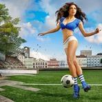 Copa do Mundo - CONFIRA AS LINDAS MULHERES DO CALENDÁRIO DA COPA DO MUNDO DE 2014
