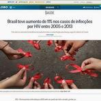 Política - Brasil teve aumento de 11% nos casos de infecções por HIV entre 2005 e 2013